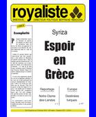 Espoir en Grèce | La Nouvelle Action Royaliste