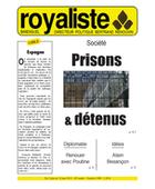 Prisons et détenus | La Nouvelle Action Royaliste