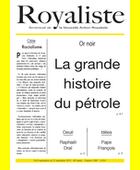 La grande histoire du pétrole | La Nouvelle Action Royaliste