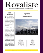 Migrants des solutions | La Nouvelle Action Royaliste