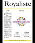 Humanité et biodiversité | La Nouvelle Action Royaliste