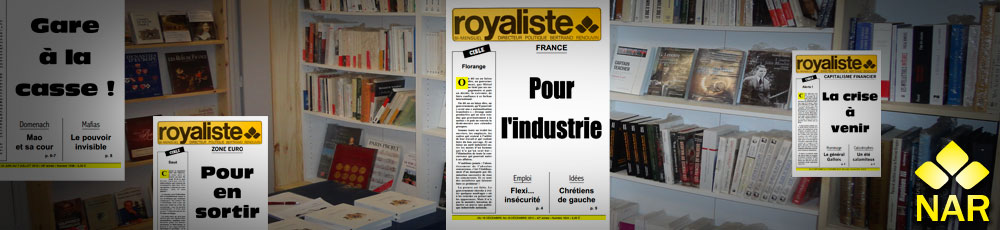 abonnement magazine royalsite | La Nouvelle Action Royaliste